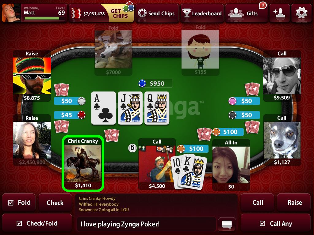 Free poker game online no download.