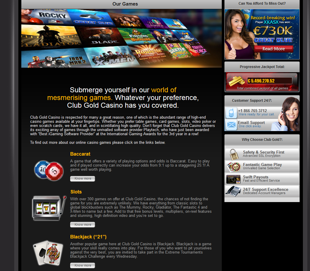 Club Gold Casino Habanero Systems Software And Mobile Casino