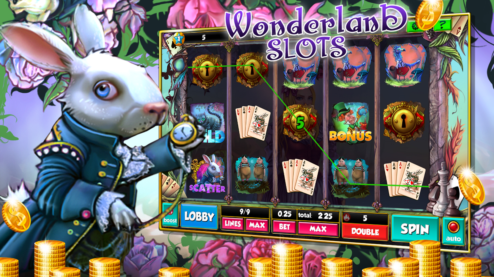Alice in Wonderland Slot Machine - Read the Review Now